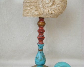 Beach Cottage Seashell Finial