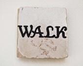 Walk Square 2x2 Tile Magnet
