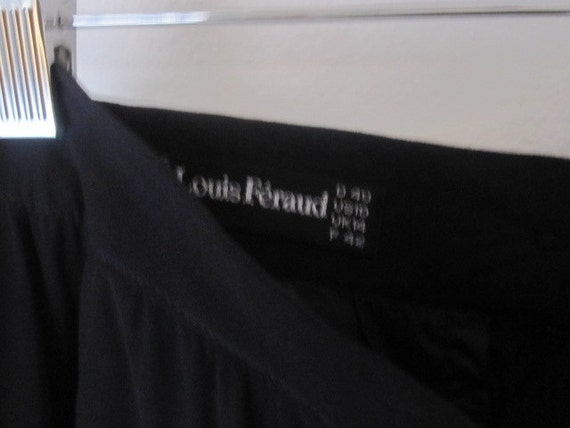 Louis Feraud  Vintage Skirt Navy
