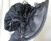 Black Magic Big Brim Hat