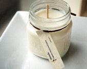 Coconut Soy Candle - 8 Ounce Mason Jar