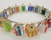 Modern Cane Glass Bracelet - kjtgp1