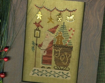 Delivering A Few Of My Favorite Things~Cross Stitch Pattern