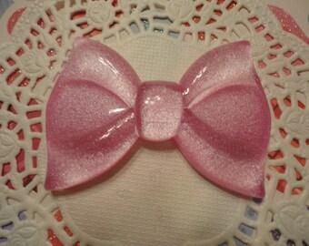 kawaii big pink bow cabochon decoden phone deco diy---USA seller