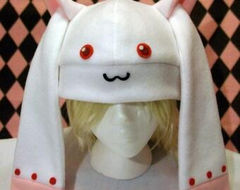Kyubey Fleece Hat - Puella Magi Madoka Magica
