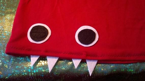 Long Chili Pepper Stretchy Monster Skirt