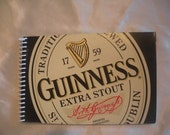 Guinness Recycled Notebook - St. Patrick's Day Gift - Journal - Writing Notebook