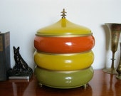 Retro Stacking Pots in Harvest Colors