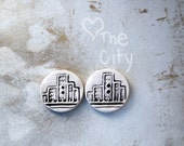 Round city buttons