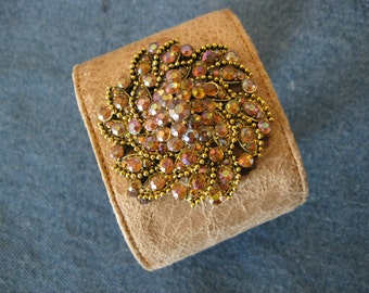 Cuff Bracelet with Large Bling