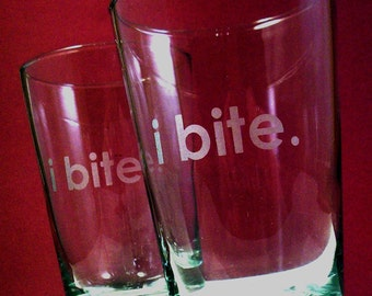 2  Highball Glasses - i bite