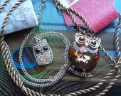 HOOT OWL NECKLACES