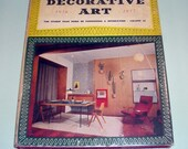 Vintage Edition of Decorative Art 1956 to 1957 Studio Year Book of Furnishing and Decoration