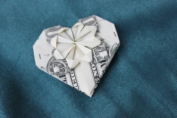 Origami Heart Dollar