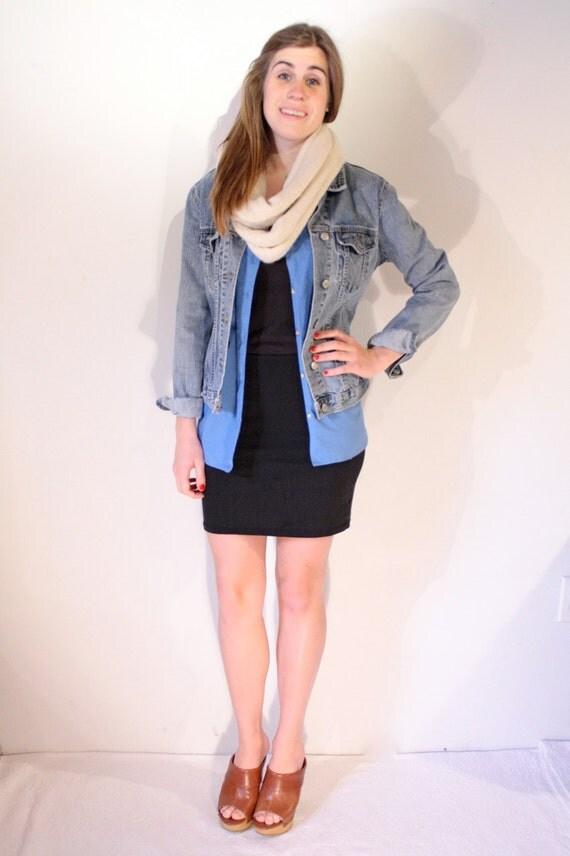 denim jean jacket 90s spring size medium