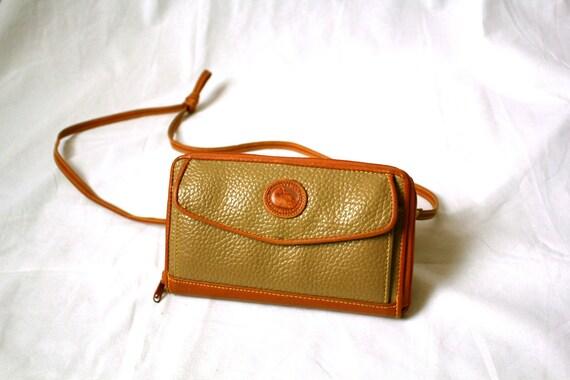 dooney bourke inspired leather wallet
