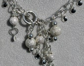 Stardust Chain Necklace and Earrings Set