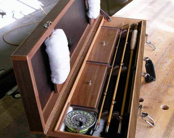 Split Bamboo Fly Rod with Case