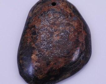 bronzite pendant bead BF6S53