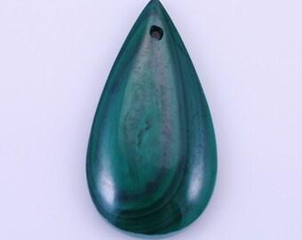 Malachite pendant bead BB6aS806