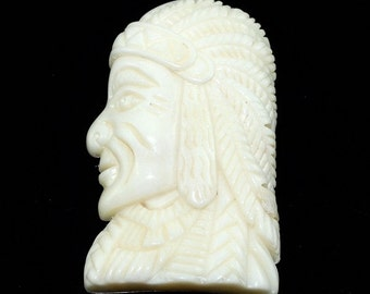 Hand carved bone Native American B1BO15