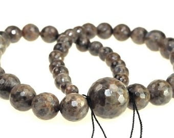 Beautiful Labradorite Faceted Round beads full strand 16.5 inches LB1695