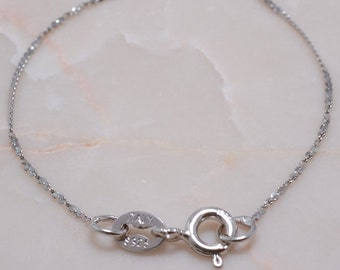 925 Sterling Silver Chain 19.5 inches B2742