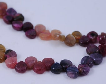 Amazing Tourmaline 6x5mm Pear beads 17 inches Full Strand 90109785