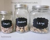 DesignNo.10 Chalkboard Labels