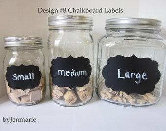 DesignNo.8 Chalkboard Labels