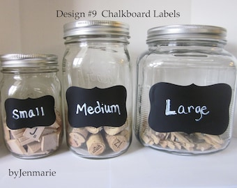 DesignNo.9 Chalkboard Labels