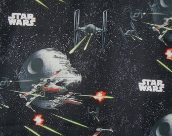 Star Wars Print Pure Cotton Fabric--One Yard