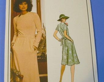Vintage Vogue Christian Dior Paris Original Pattern 1188