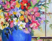 3 Pears Original painting 11 x 14
