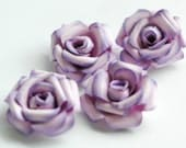 Set of 4 Fancy Blossoms // PURPLE, LAVENDER, VIOLET
