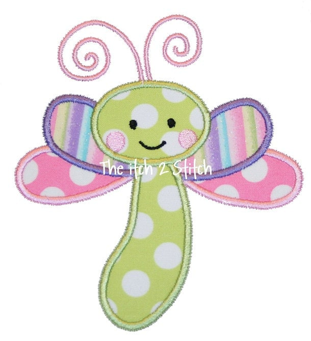 Dragon Applique Designs Baby Dragonfly Applique Design