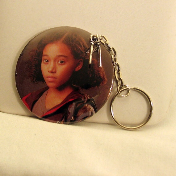 Hunger Games RUE Keychain District 11's Tree Climbing  Songbird Tribute