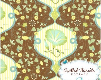 Flora in Bark (25020-14) - Botany by Lauren and Jessi Jung - Moda- 1 Yard