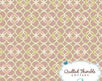 Mod Rings Terra (CO-8207) - Coquette by Art Gallery Fabrics - 1 Yard