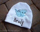 Personalized Baby Dinosaur Hats