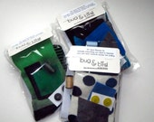 DIY Sock Monster Sewing Kit- Boy Colors- Craft Kit- Learn to Sew
