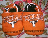 Texas Longhorn baby shoes 0-6 months