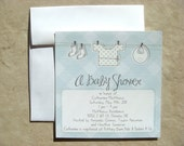Lil Duds Baby Shower Invitations (Set of 20)