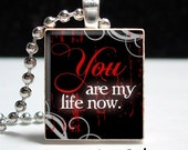 Twilight You Are My Life Scrabble Tile Pendant - Buy 2 Get 1 Free