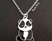 LAST ONE-Baby Panda Necklace