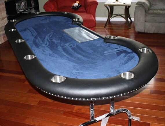 Poker table 10 person plus dealer spot for 10 person poker table