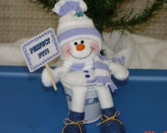 Perfect Fit Snowman Ornament EPattern