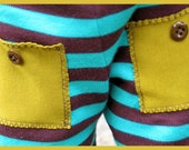 Stripy Pocket Pants sizes 3t and 4t