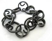 Hooked Flower bracelet - Italy Handmade