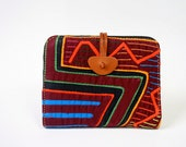 Contemporary Mola women wallet in brown leather, item of the week on Time out Ny. TONY